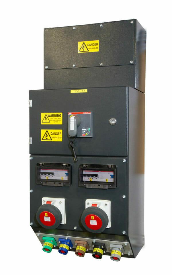 Indoor Power Distribution Cluster