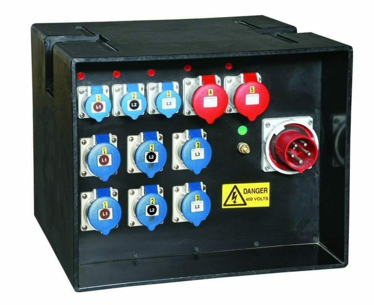 63 amp 3 phase distribution board
